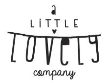 a little lovely company Logo WS